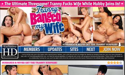 Tranny Banged My Wife